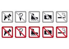 No dogs, no ice cream Royalty Free Stock Image