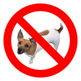 No dogs sign Stock Photo