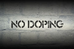No doping Stock Photo