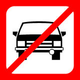 No drink and drive icon great for any use. Vector EPS10. Stock Image