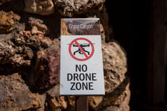 No Drone Zone Royalty Free Stock Photo