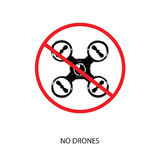 No drones. High quality isolated vector Stock Photo
