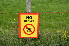 No drones stock photography