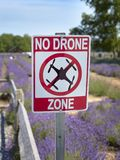 No drones sign royalty free stock photo