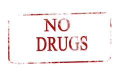 No drugs Royalty Free Stock Image