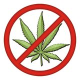 No Drugs Sign Stock Image