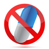 No drugs symbol Stock Image