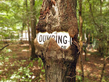 No Dumping Royalty Free Stock Photography
