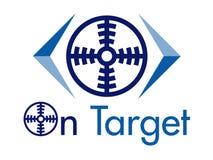 No elemento do projeto do logotipo do vetor do alvo Foto de Stock Royalty Free