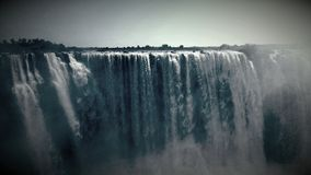 No end to the might and beauty of the Falls of Africa Stock Image