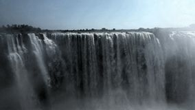 No end to the might and beauty of the Falls of Africa Royalty Free Stock Image