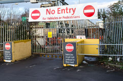 No Entry Stock Photos