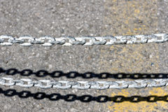 No entry chain Stock Image