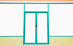 No Entry Door Frame Royalty Free Stock Photography