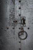 No Entry - Old metal door Royalty Free Stock Photography