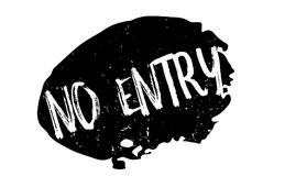 No Entry rubber stamp Stock Photos
