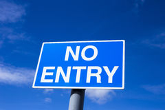 No Entry sign Royalty Free Stock Images