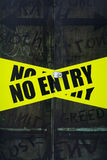 No Entry Royalty Free Stock Photo