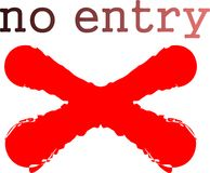 No Entry sign Stock Image