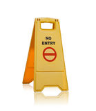 No entry sign  isolated Stock Photos