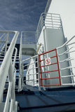 No Entry Sign Onboard a Cruise Ferry Stock Image