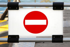 No entry sign Royalty Free Stock Photos