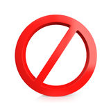 No entry sign Stock Photos