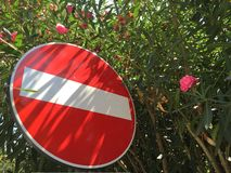 No entry sign  Royalty Free Stock Photos