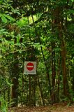 No Entry Royalty Free Stock Photo