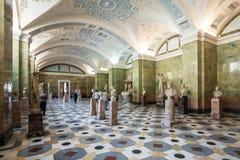 No eremitério do estado, quadrado do palácio Fotos de Stock
