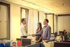 No escritório foto de stock royalty free