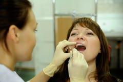No escritório dental Imagens de Stock Royalty Free