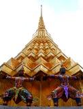 No estilo da arquitetura/prakaew tailandeses 02 do wat imagens de stock royalty free