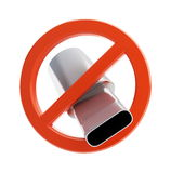 No exhaust pipe Royalty Free Stock Photos