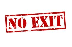 No exit Royalty Free Stock Images