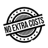 No Extra Costs rubber stamp. Grunge design with dust scratches. Effects can be easily removed for a clean, crisp look. Color is easily changed royalty free illustration