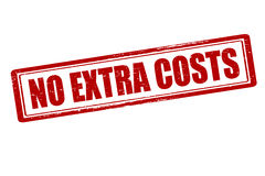 No extra costs Stock Photography