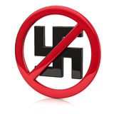 No fascism icon Royalty Free Stock Photos