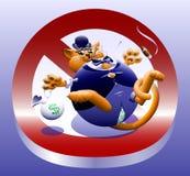 No Fat Cats Stock Photo