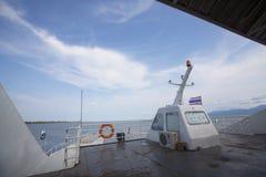 No ferryboat, koh chang, Tailândia Foto de Stock