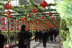 No festival de mola de China Fotografia de Stock Royalty Free
