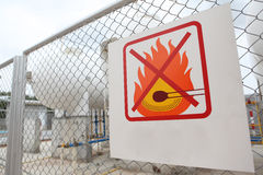 No fires sign Royalty Free Stock Photo