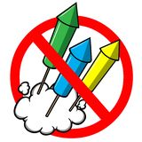 No Fireworks Royalty Free Stock Images