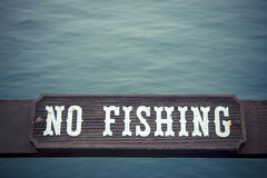 No fishing Stock Photography