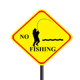 No fishing Royalty Free Stock Photo