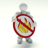 No flame Royalty Free Stock Photos