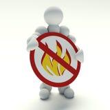 No flame Royalty Free Stock Photos
