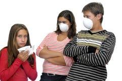 No flu Royalty Free Stock Photos