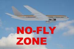 No-Fly Zone concept Stock Photos