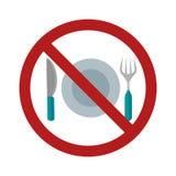 No Food Stock Photo